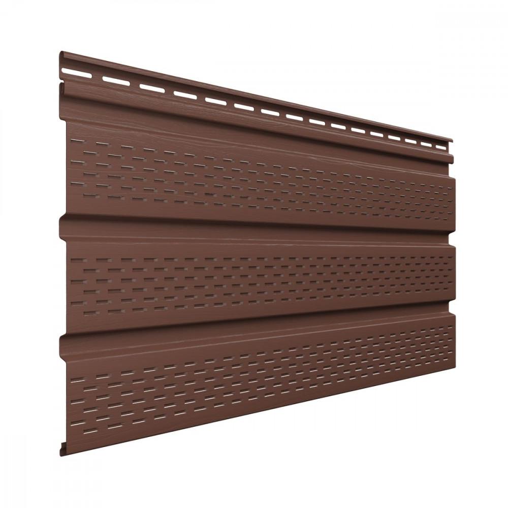 Софит полностью перфорированый, коричневый 3м*0,308м Технониколь