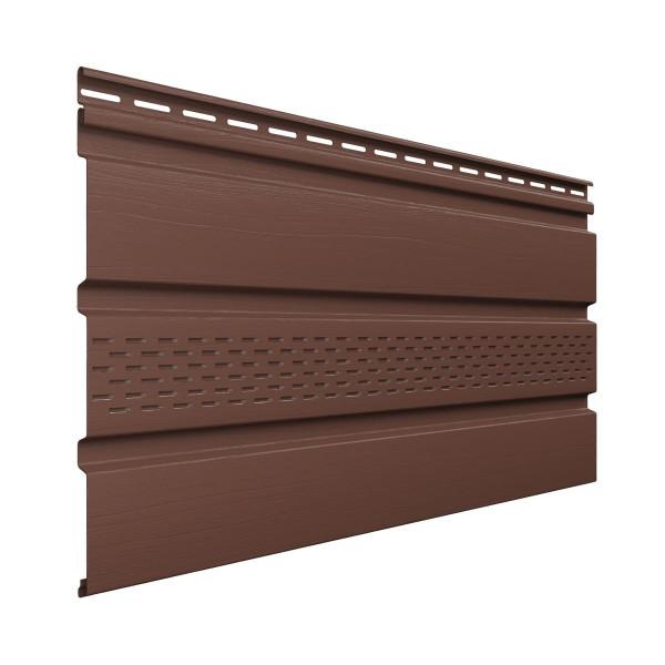 Софит с частичной перфорацией, коричневый 3м*0,308м Технониколь