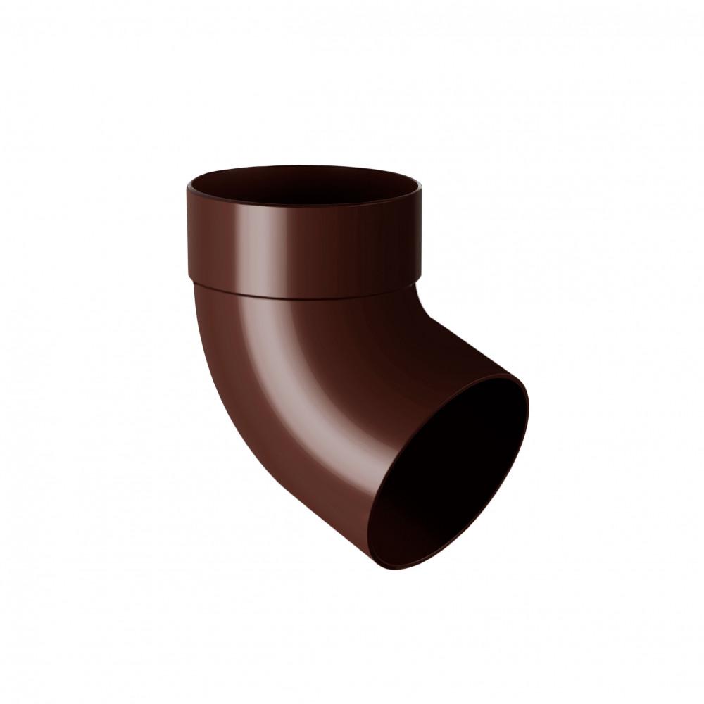 Отвод одномуфтовый  ″Rainway″  67° 75 коричневый