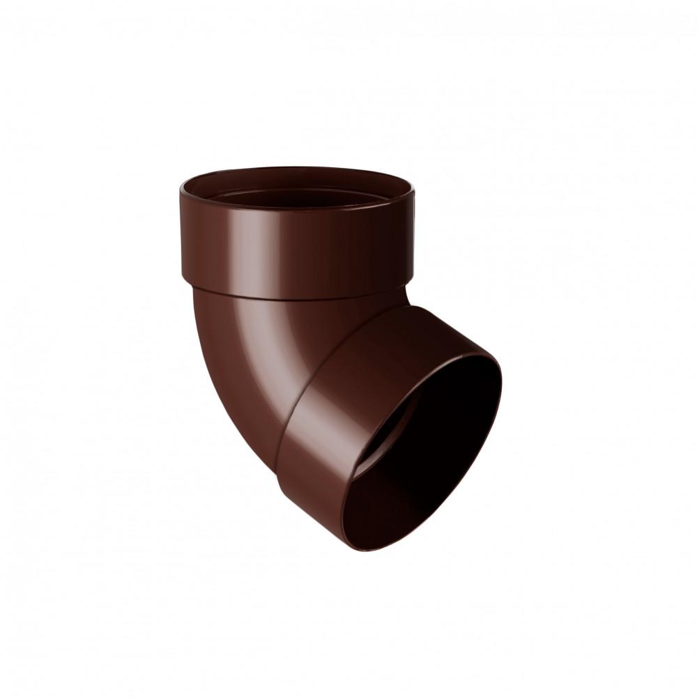 Отвод двухмуфтовый  ″Rainway″  67° 75 коричневый