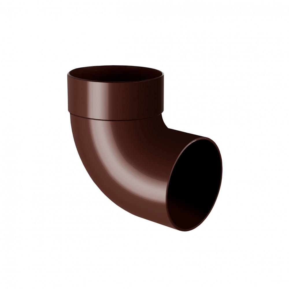 Отвод одномуфтовый  ″Rainway″  87° 75 коричневый