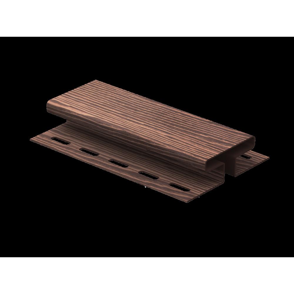 Соединительная планка ″Тимбер-Блок″ Дуб морёный 3,05м