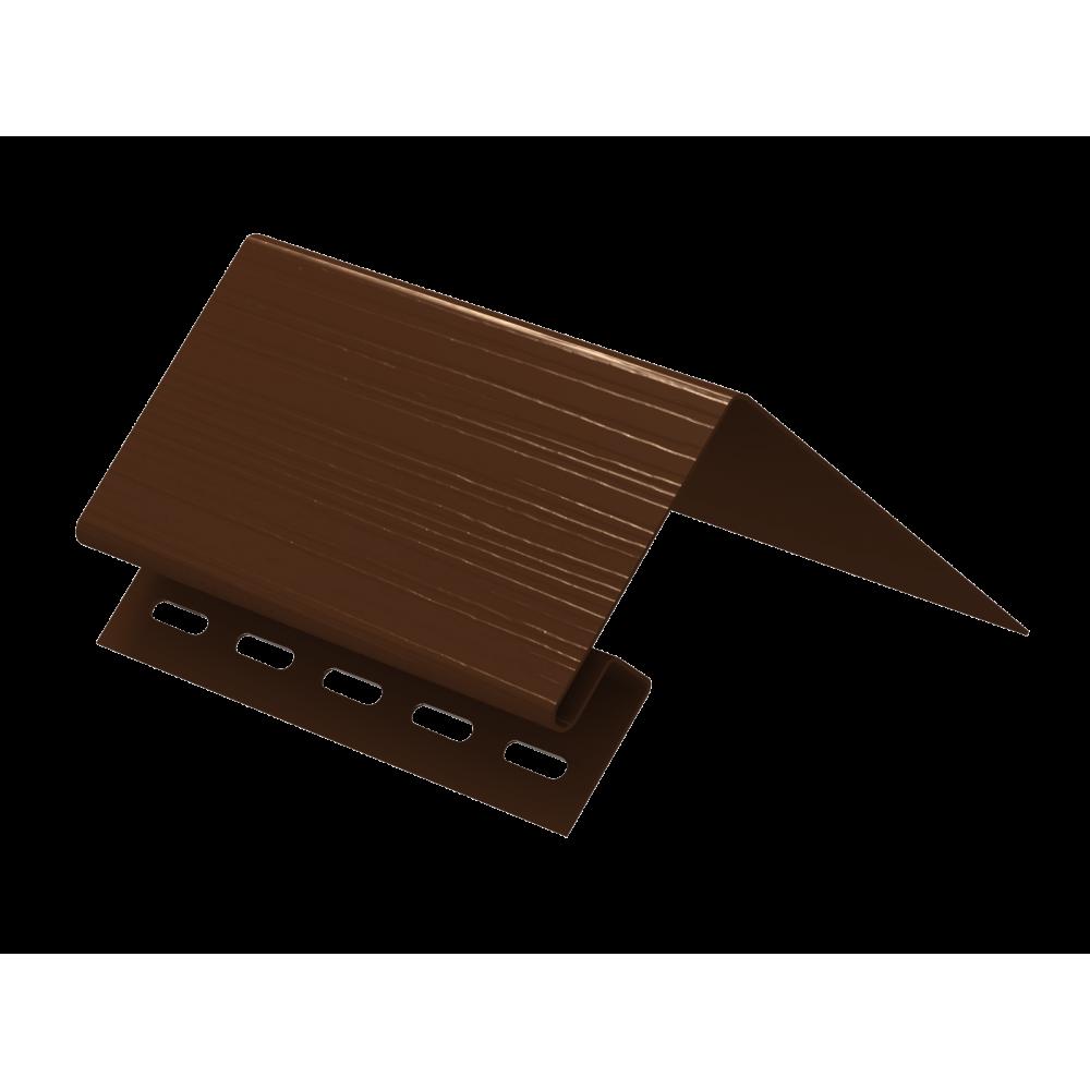 Околооконная планка ″Ю-Пласт″ коричневая  3,05м