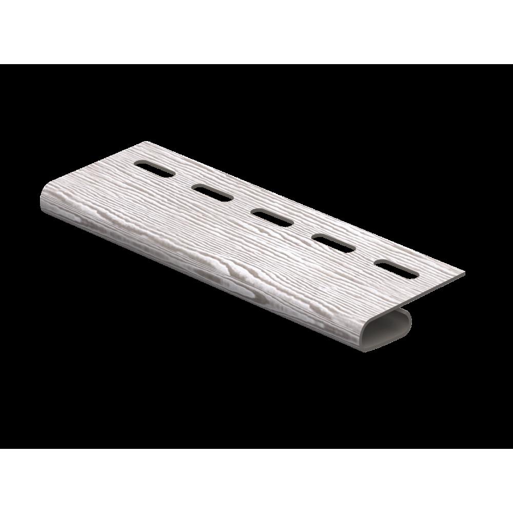 Завершающая планка ″Тимбер-Блок″ Дуб Серебристый 3,05м