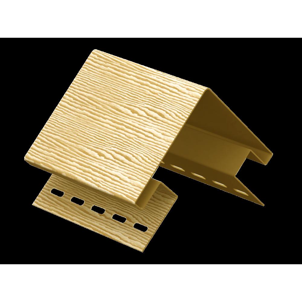 Наружный угол ″Тимбер-Блок″ Дуб  Кантри золотой 3,05м