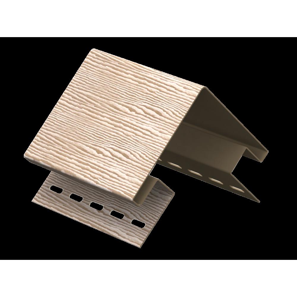 Наружный угол ″Тимбер-Блок″ Дуб  Кантри натуральный 3,05м