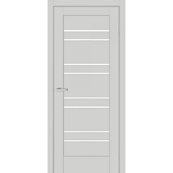 Полотно двер. ПВХ ТМ ОМиС 800мм Rino 01 G (silk matt светло-серый)