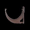 Кронштейн желоба ПВХ 125  кор.Технониколь