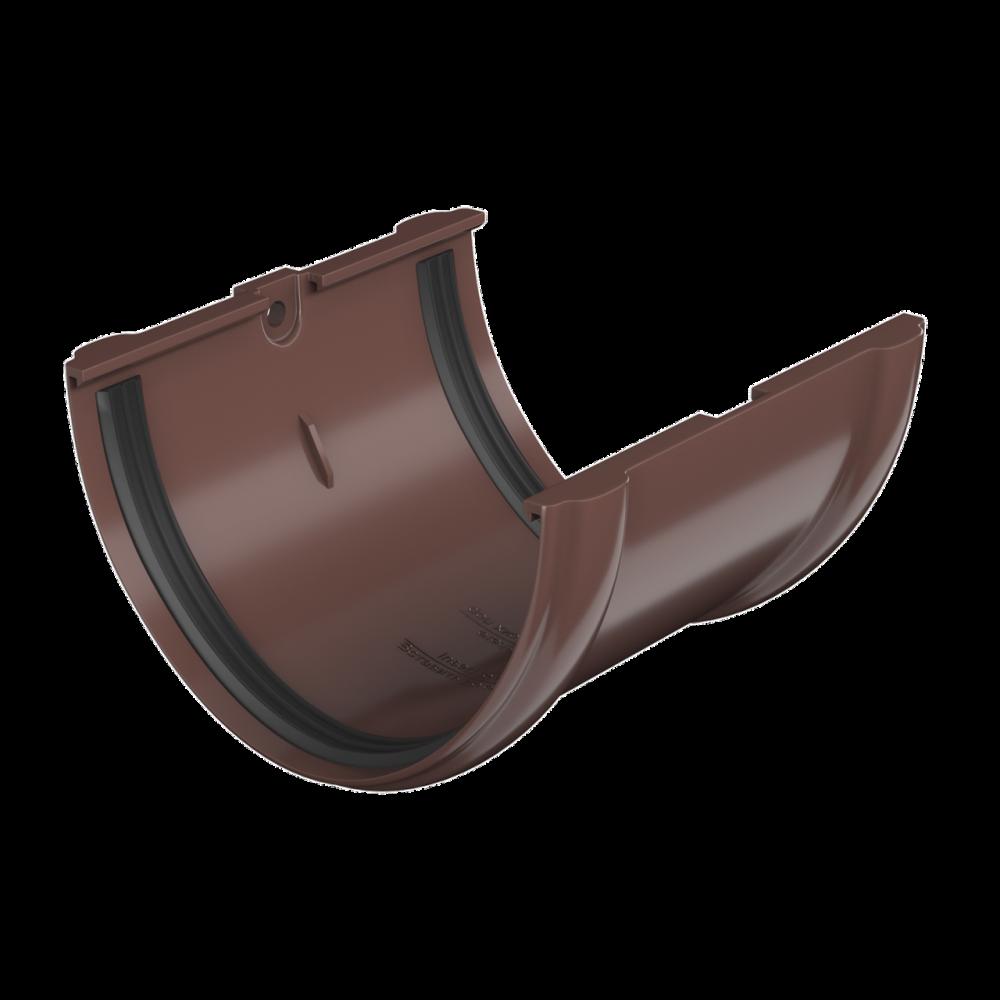 Соединитель желоба ПВХ , белый125 Технониколь