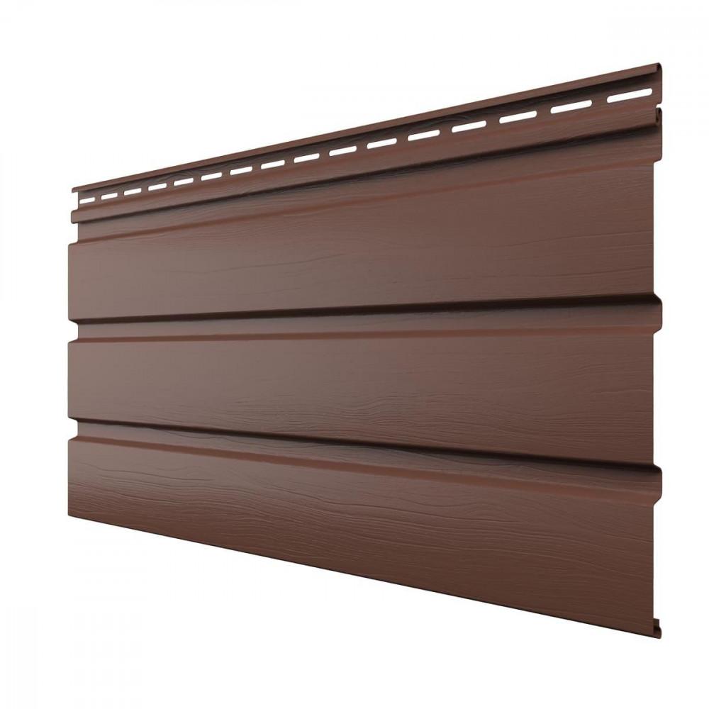 Софит без  перфорации, коричневый 3м*0,308м Технониколь