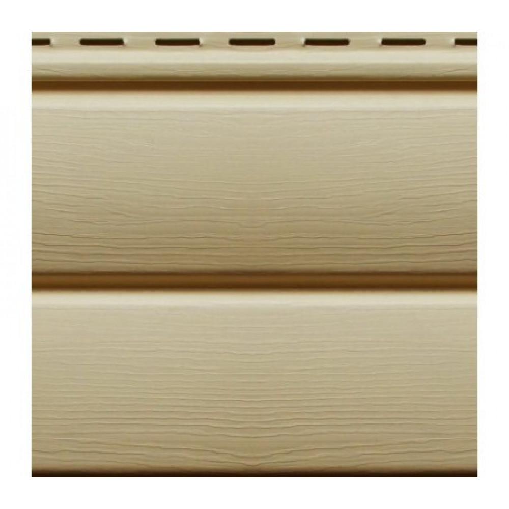 Панель Сайдинга ″Блок-Хаус″ кофе с молоком 3,4м*0,23м