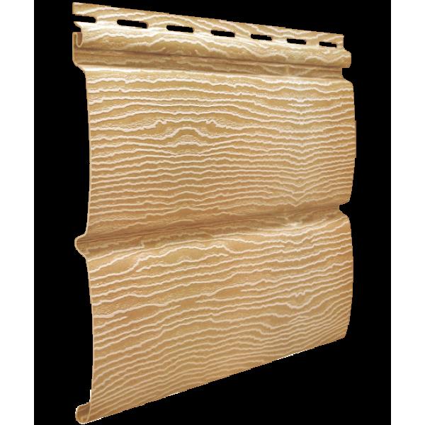 Панель Сайдинга ″Тимбер-Блок″ Дуб Кантри золотой 3,4м*0,23м