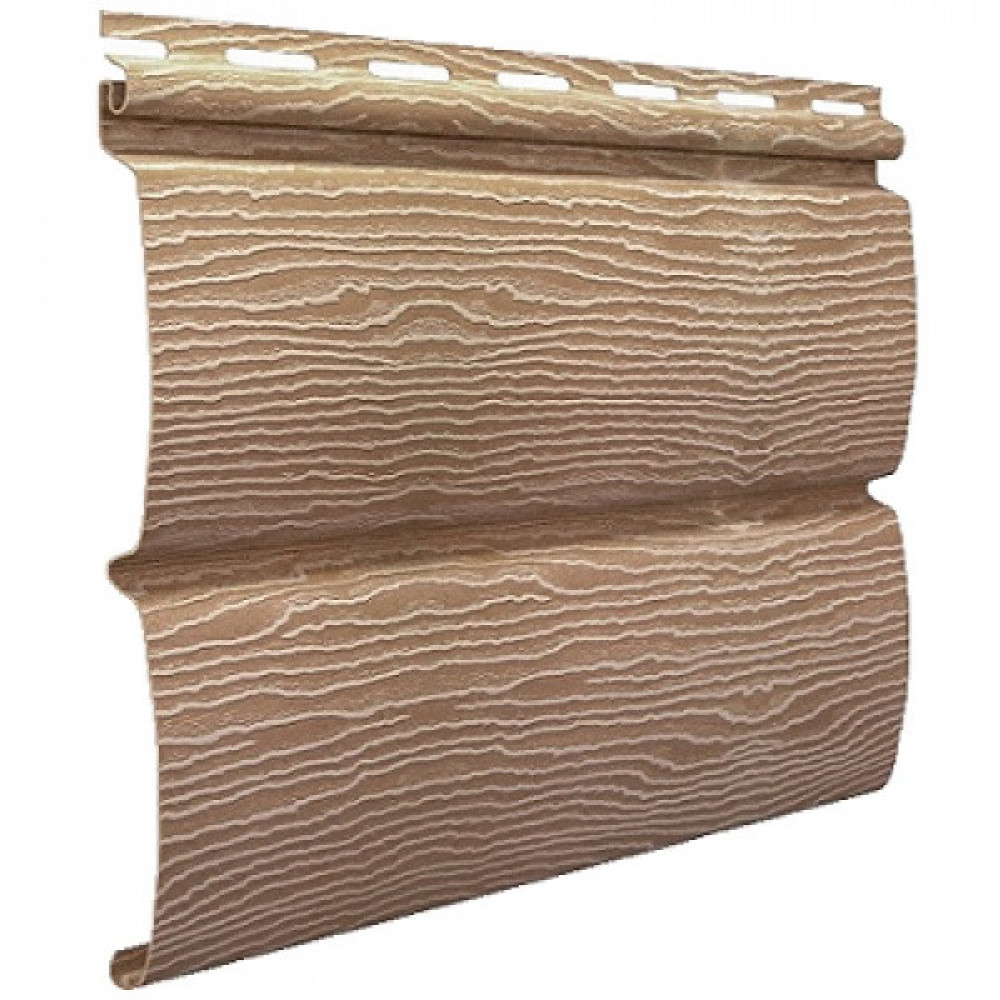 Панель Сайдинга ″Тимбер-Блок″ Дуб Кантри натуральный 3,4м*0,23м