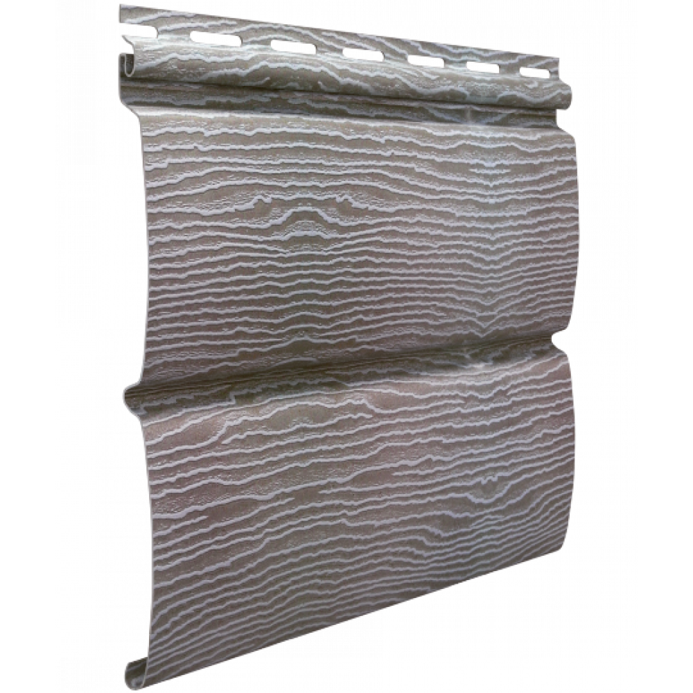 Панель Сайдинга ″Тимбер-Блок″ Дуб серебристый 3,4м*0,23м