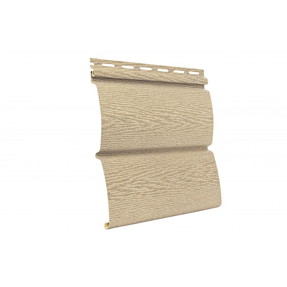 Панель Сайдинга ″Тимбер-Блок″ Ясень золотистый 3,4м*0,23м