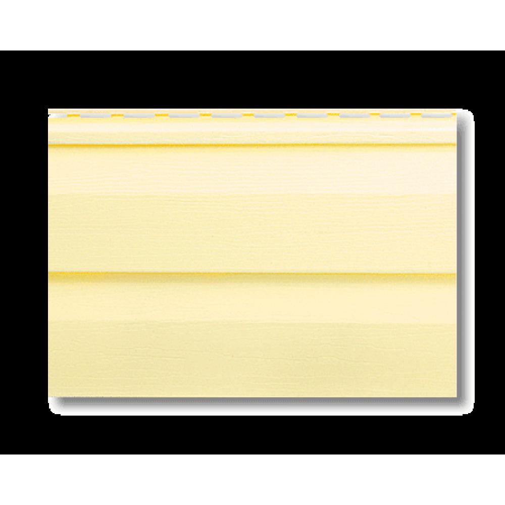 Панель виниловая ″Альта-Сайдинг″ 3,66м*0,23м лимонная