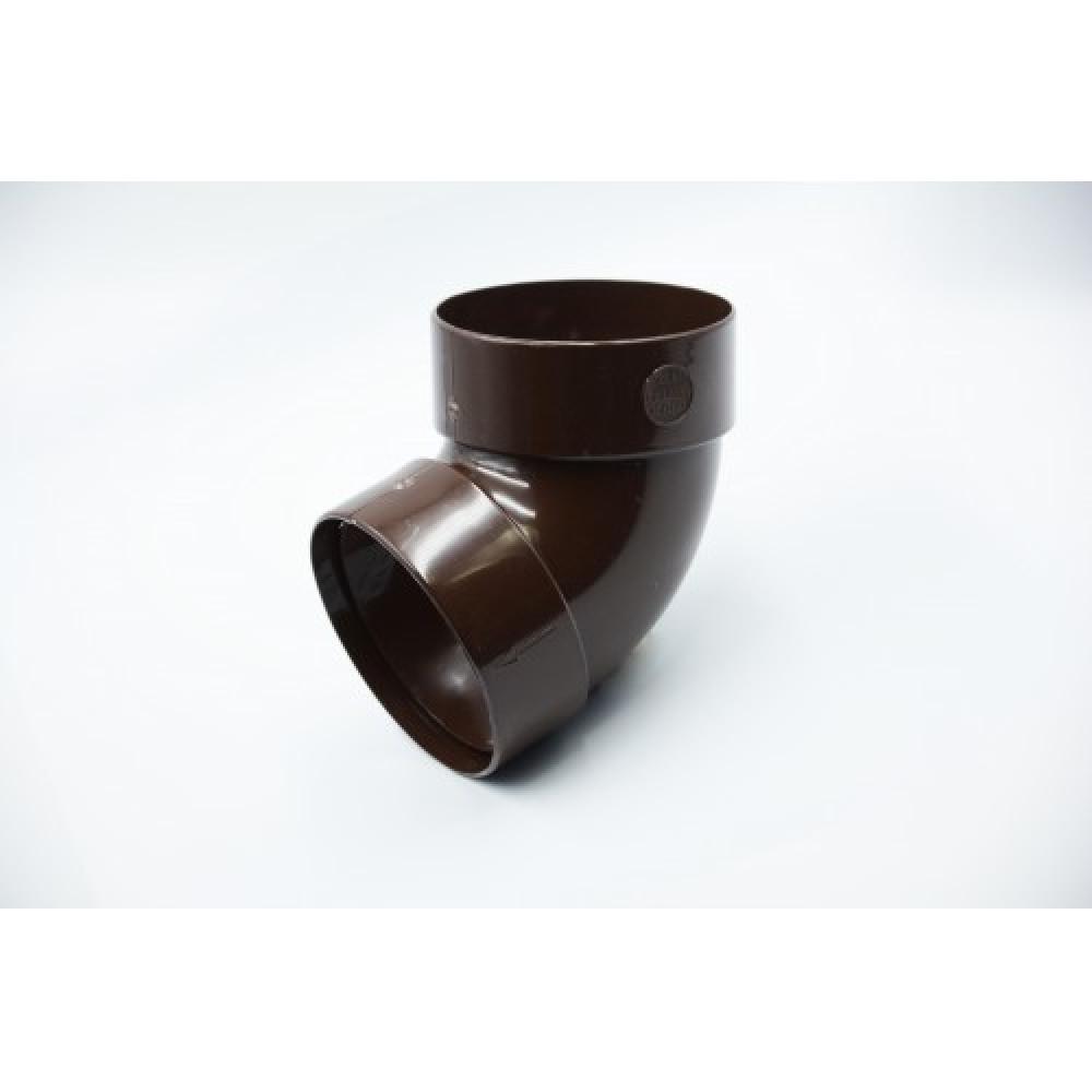 Отвод одномуфтовый  ″Rainway″  67° 100 коричневый