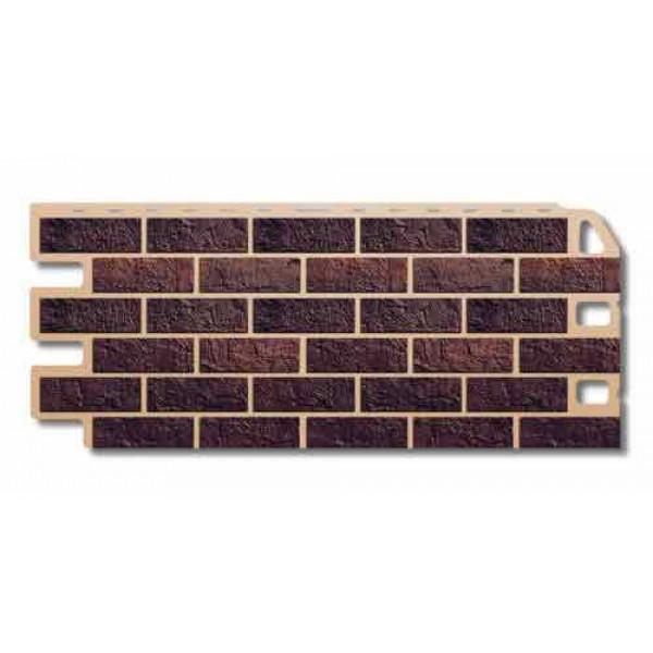 Панель фасадная ″Альта-профиль″ Кирпич жженый 1,14м*0,48м