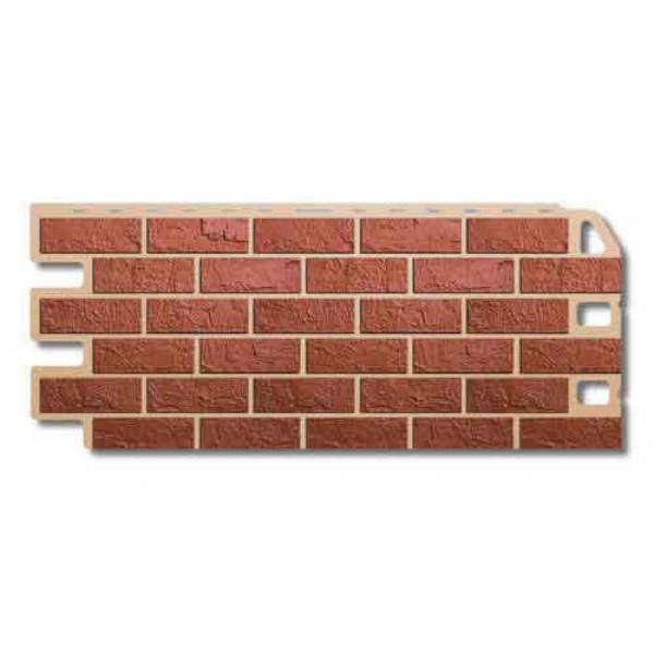 Панель фасадная ″Альта-профиль″ Кирпич Красный 1,14м*0,48м