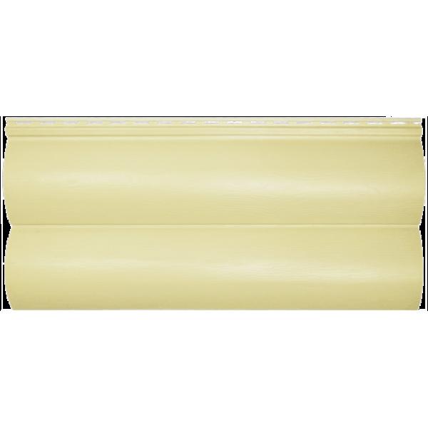 Панель сайдинга ″Block house SLIM″ кремовая (3,66*0,23)