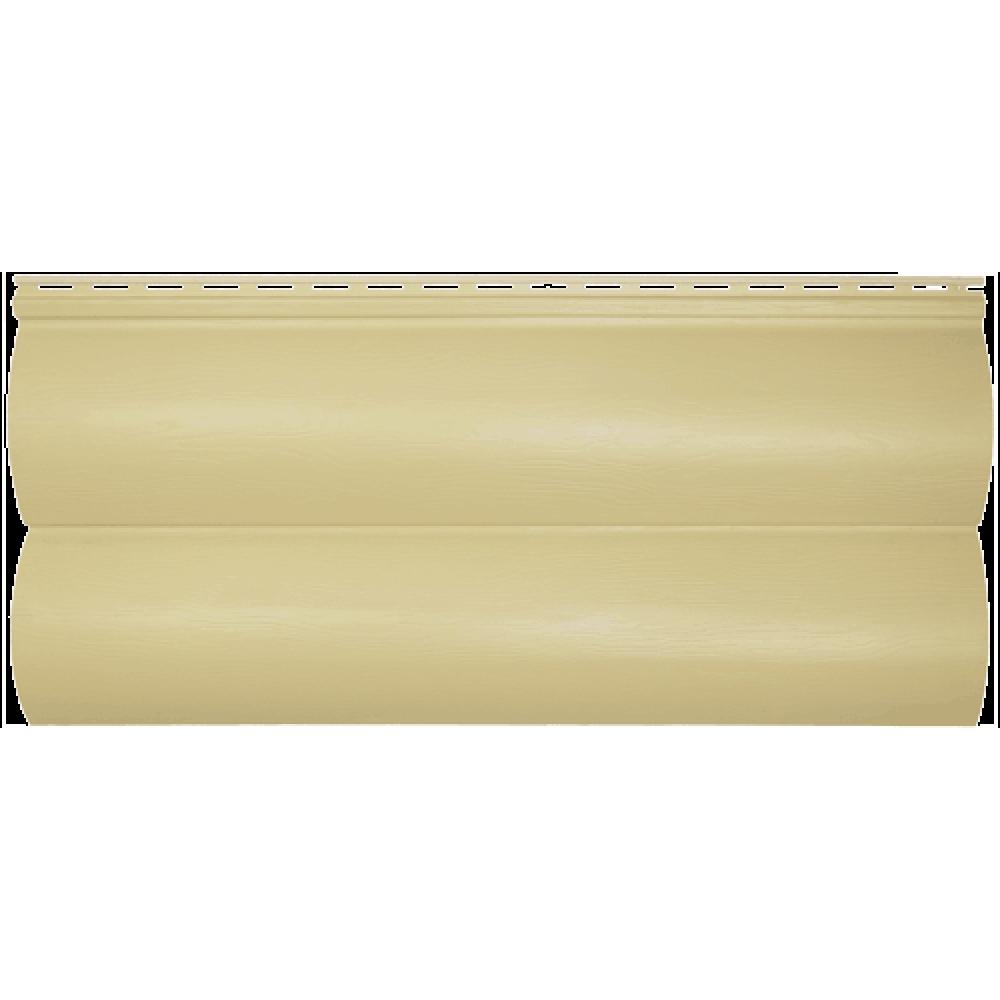 Панель сайдинга ″Block house SLIM″ песочная (3,66*0,23м)