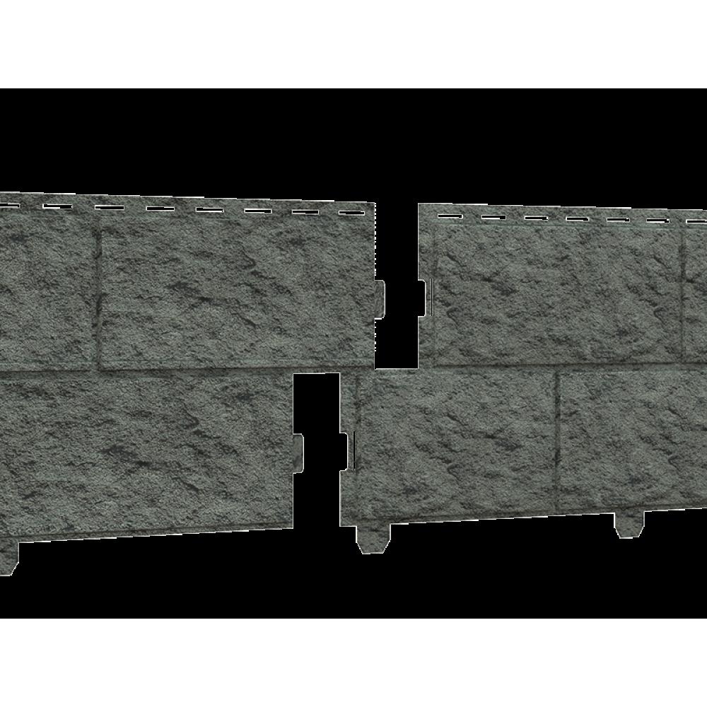 Панель Сайдинга ″Стоун-Хаус″ Камень изумрудный 3,025м*0,225м