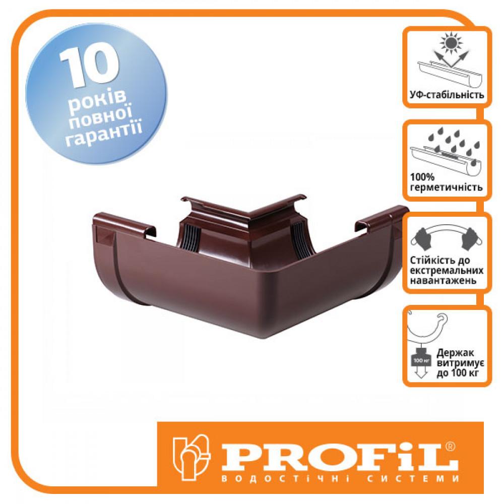 Угол внутренний 135° коричневый ″Profil 130″