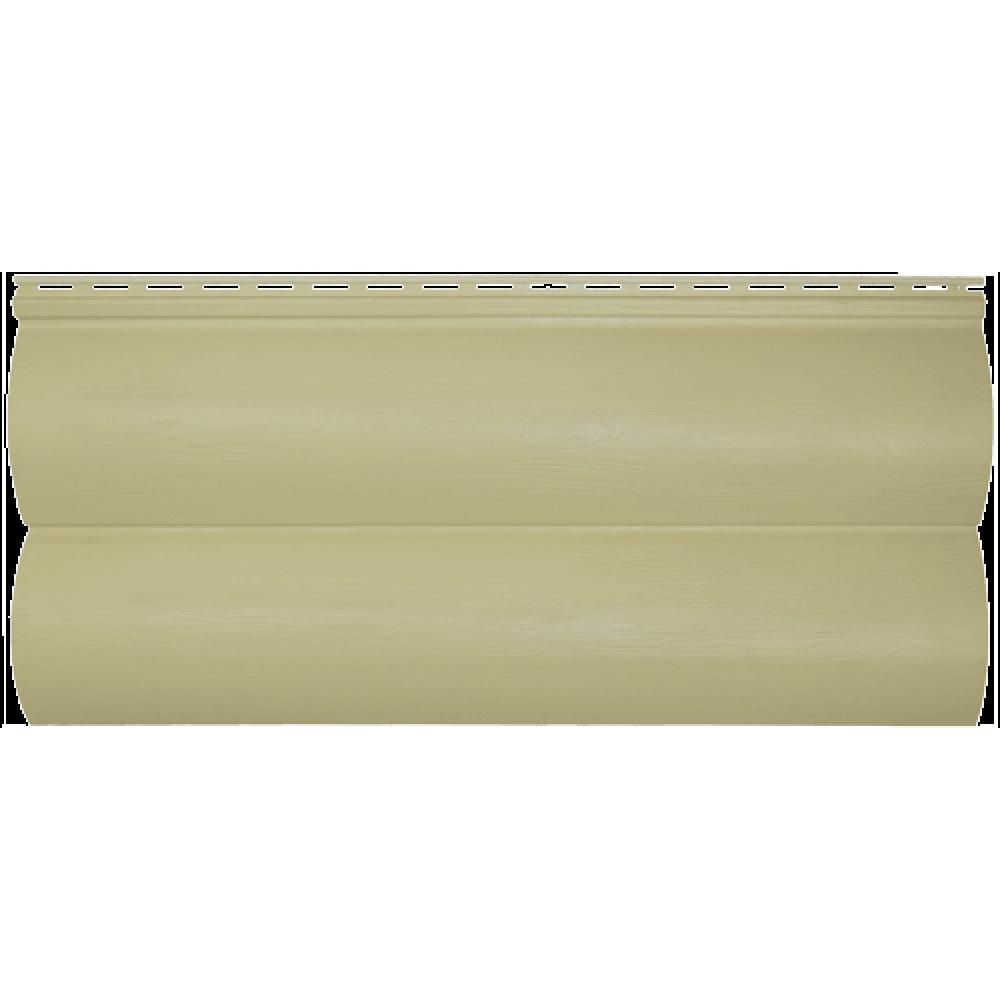 Панель сайдинга ″Block house SLIM″ бежевая (3,66*0,23)