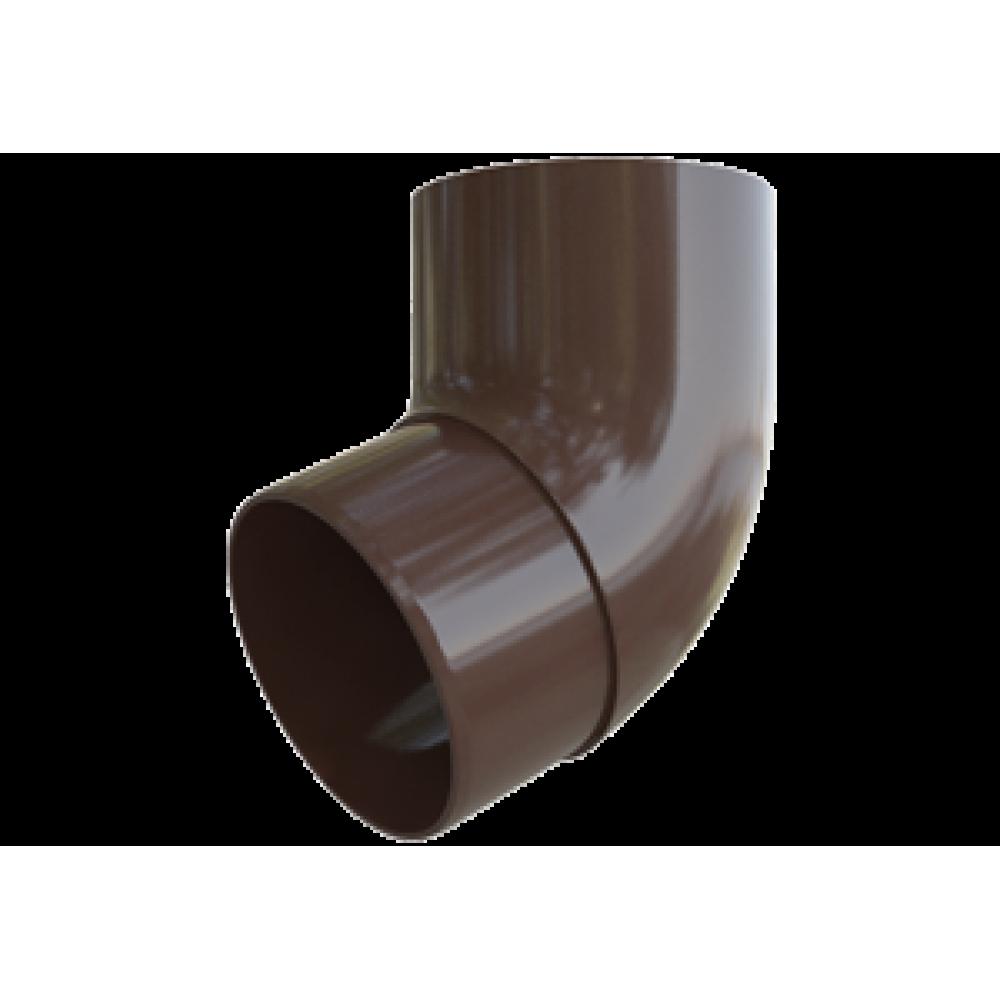 Колено трубы 67° ПВХ ,  95 кор. Альта-Профиль